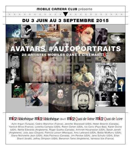 'Self Portrait Show' Mobile Camera Club Paris 2015