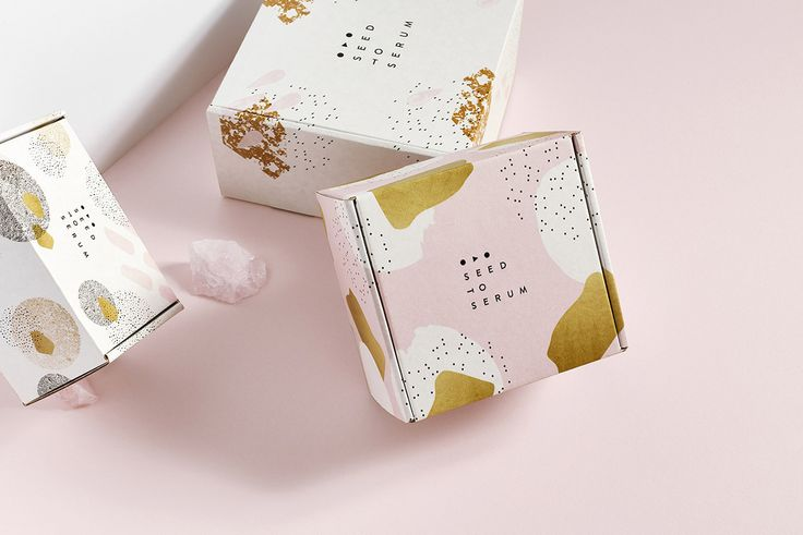 Seed to Serum branding and packaging design by @Knoed Creative See more: https://mindsparklemag.com/design/seed-to-serum/  More news: Like Mindsparkle Mag on Facebook