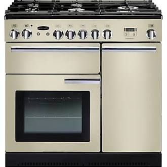 Rangemaster 91920 90cm Professional Gas Range Cooker in Cream