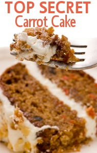 Trisha Yearwood's Family Secret Carrot Cake Recipe (as seen on Live with Kelly & Michael)