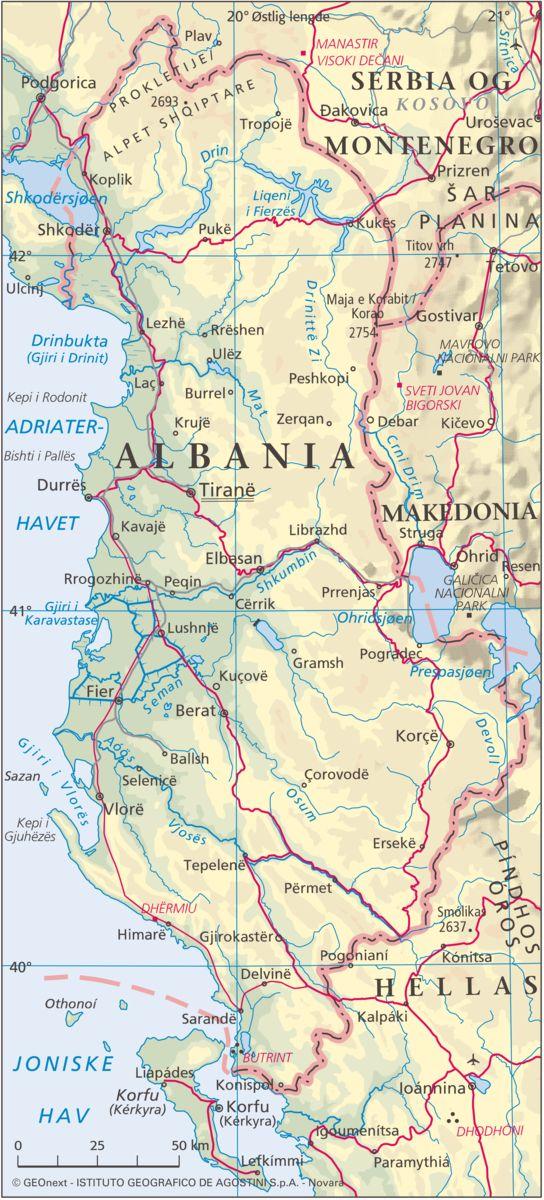 Albania – Store norske leksikon