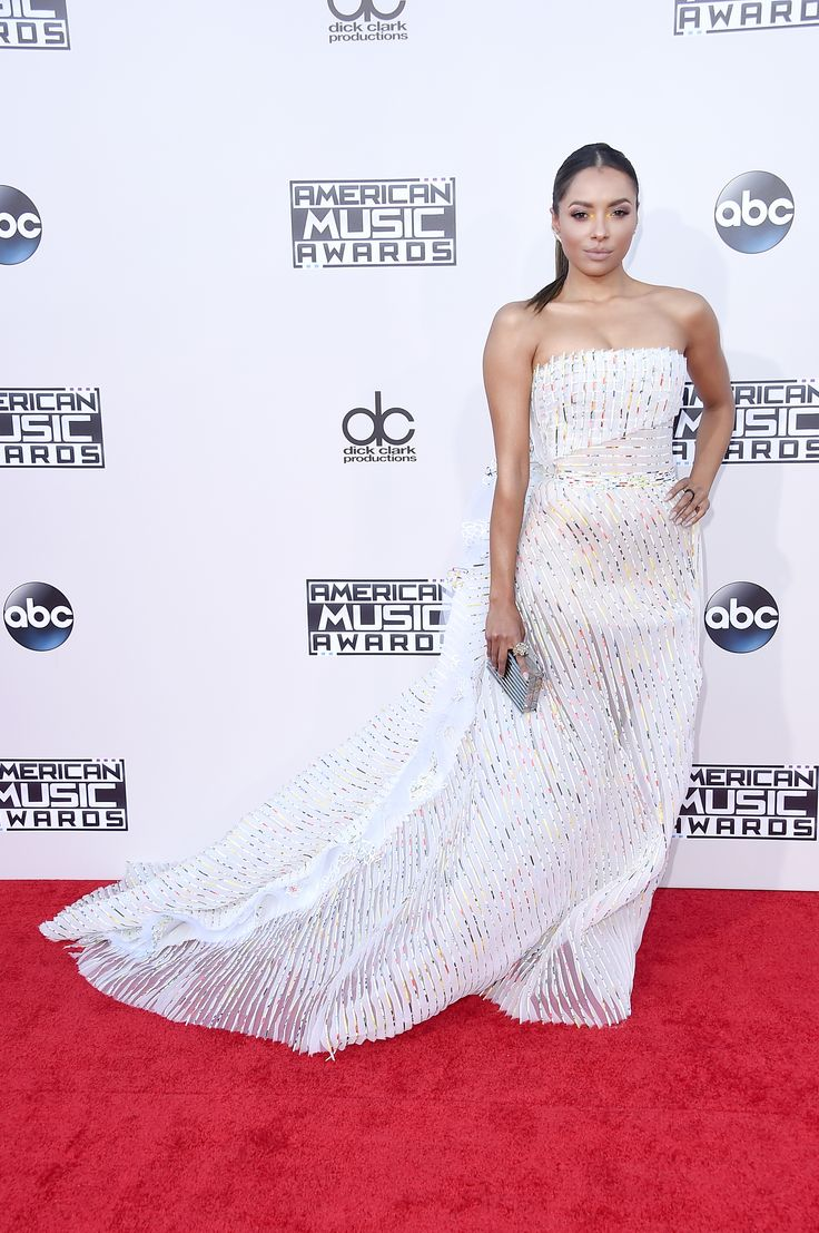 AMA Awards 2015 - Kat Graham In Georges Chakra.