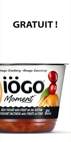 Un iögo Moment gratuit ! savourez votre iögo Moment sur Twitter ou Instagram avec #savourezlemoment ET #iögo  http://rienquedugratuit.ca/nourriture/un-iogo-moment-gratuit/