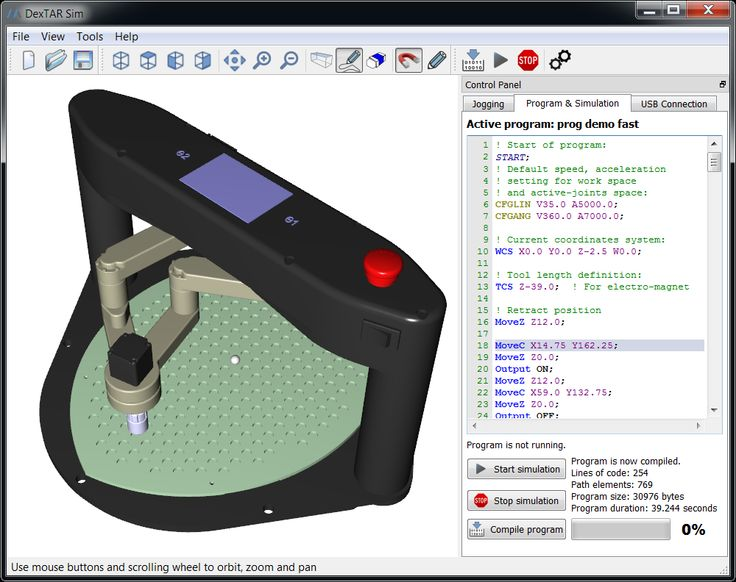 DexTAR - Dual-arm SCARA robot for education and traning