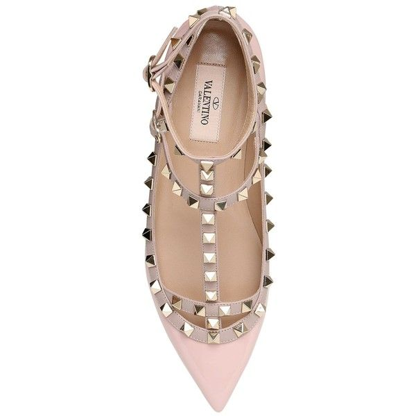 Black nude studded flats brand new bought