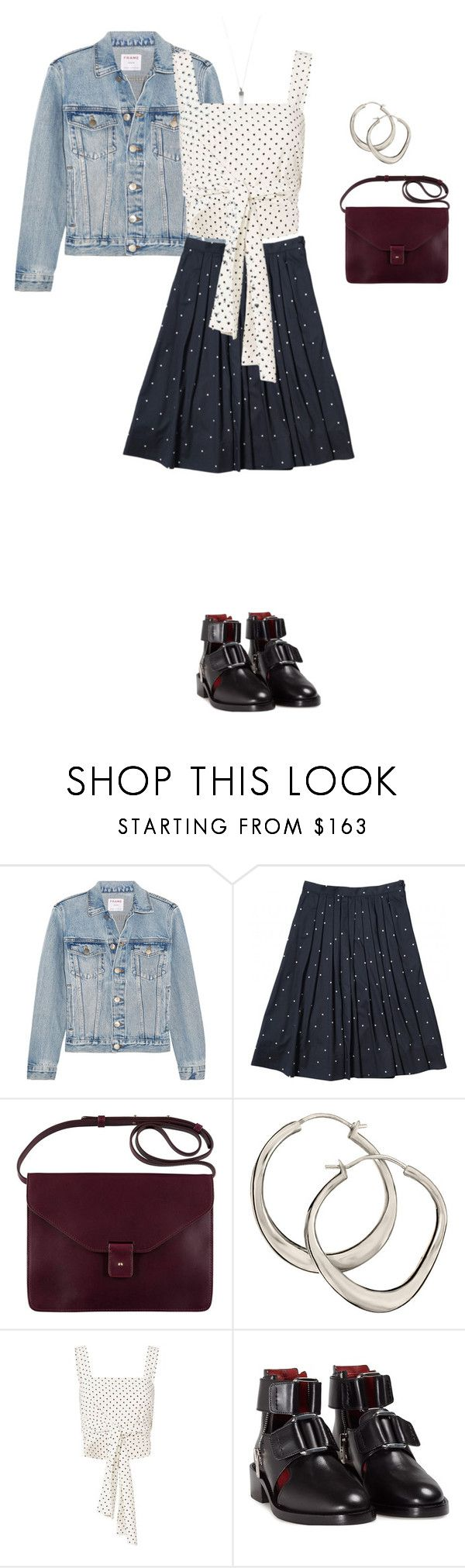 """""""Untitled #193"""" by noirbeige ❤ liked on Polyvore featuring Frame, A.P.C., Dinny Hall, Alexis, 3.1 Phillip Lim and Marc Jacobs"""