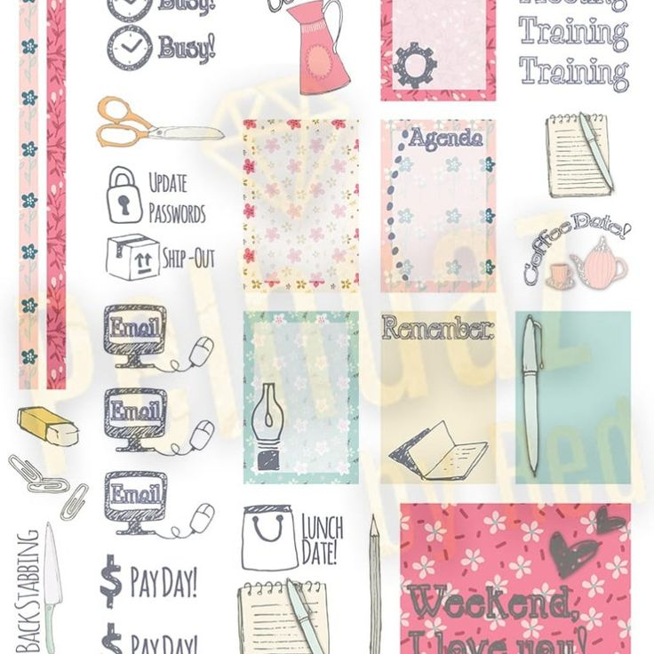 Free Working Hard Planner Kit {store checkout required}