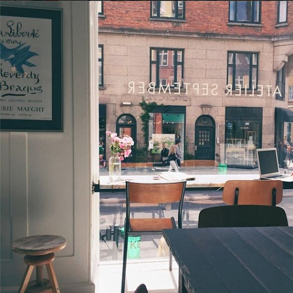 Copenhagen. oh, the perfect simplicity of things falling into place. (here, at Atelier September)