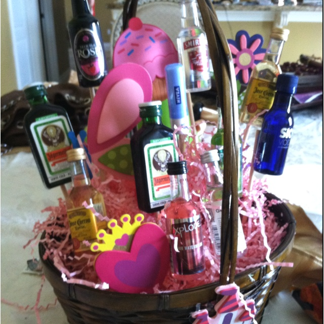 Gift Basket Ideas 21st Birthday Party St