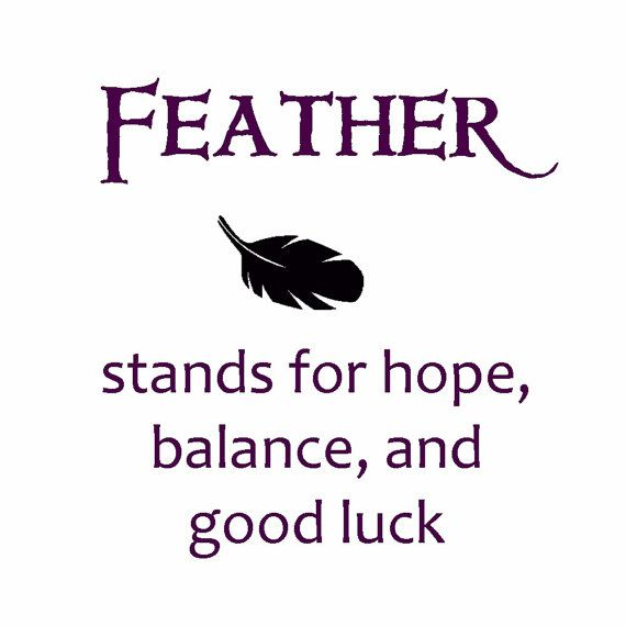 the meaning of a feather