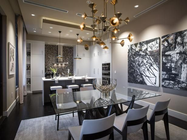 16 Great Glass Dining Room Tables - Top Dreamer