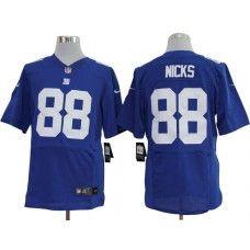 Nike NFL New York Giants Hakeem Nicks Men's Replica Jersey