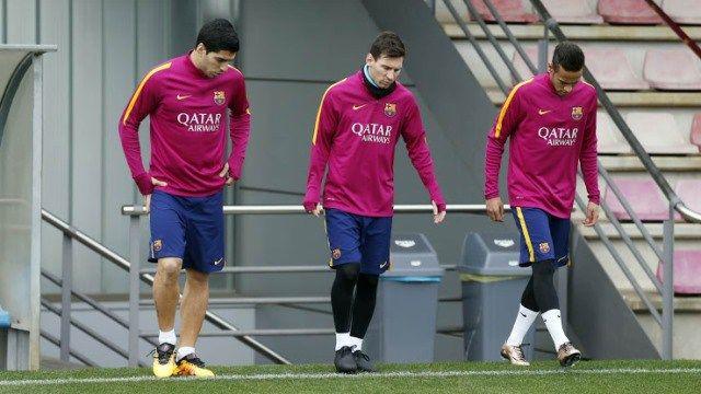 Messi prueba las botas Adidas Pureagility Ace