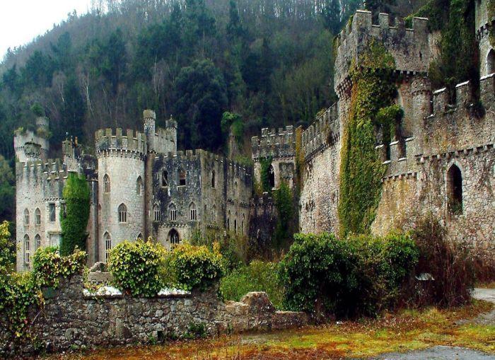 Gwrych castle, Wales