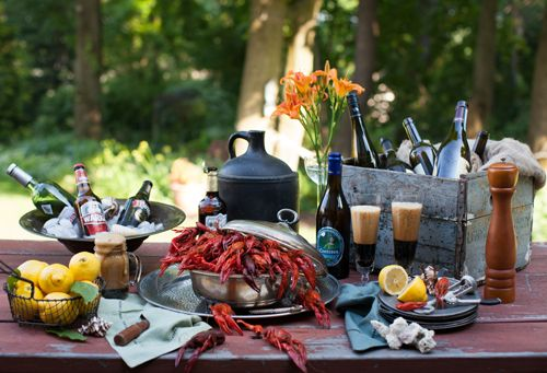 Friday Night Feast: Hot & Juicy Crawfish with Beer at Cooking Melangery