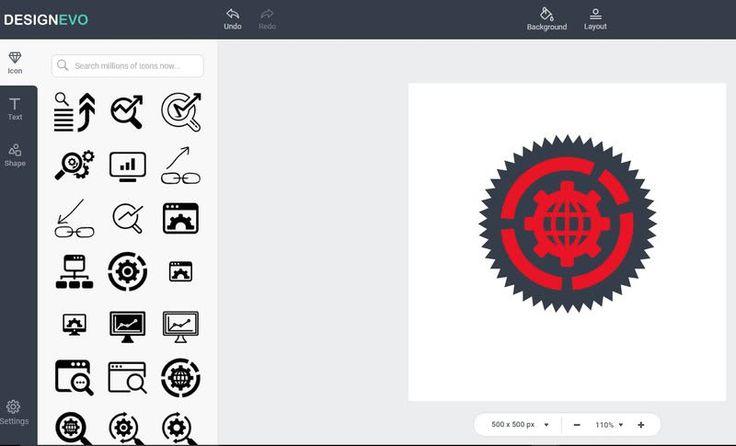 DesignEvo es una potente herramienta web gratuita para crear logotipos de aspecto profesional de forma muy sencilla y divertida.
