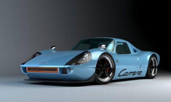 Gullwing America recreate retro rides based on modern tech. And this, their P/904 Carrera based on a Porsche Boxter