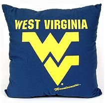 College Floor Pillow - West Virginia