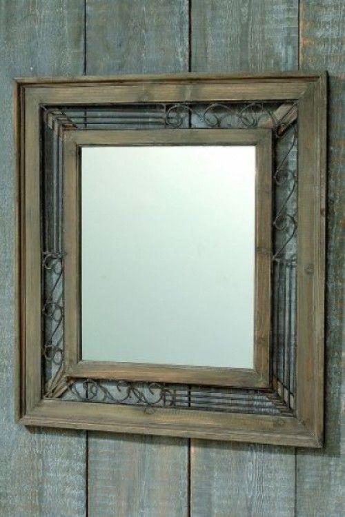 17 beste idee n over houten spiegel op pinterest for Houten spiegel