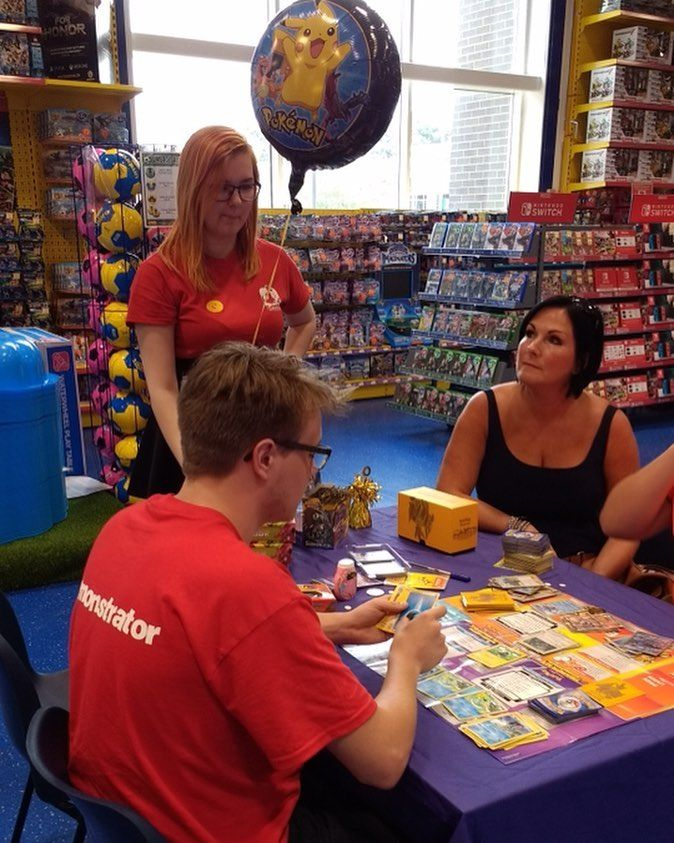 Our Pokemon Trade & Play Event is well underway! Have you stopped by yet? Check if it's in your local store in the tags!   #Reading #MiltonKeynes #Thurrock #nottingham #bournemouth #pokemon #tradingcards #smyths #smythstoys #smythstoyssuperstores #heyletsplay #ifiwereatoy #toystagram