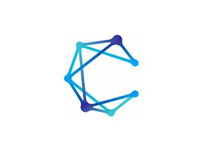 C for Constellation logo design symbol by Alex Tass #Design Popular #Dribbble #shots