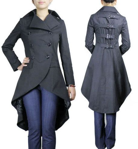 steampunk coat women - Google Search