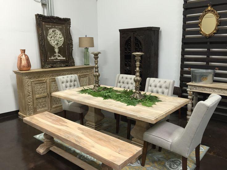 Beyond Furniture And Frames In Frisco TX Wood PedestalPedestal Dining TableDining