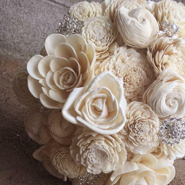 Eco Flower wedding bouquet  www.ecoflower.com