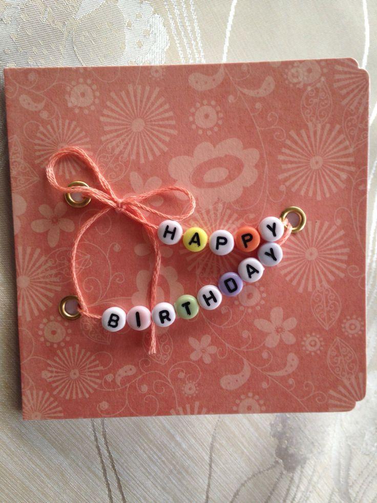 Birthday card DIY