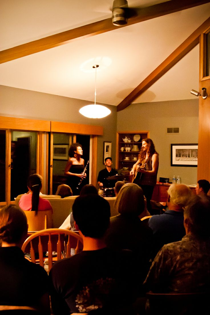 Birds of Chicago playing our house concert