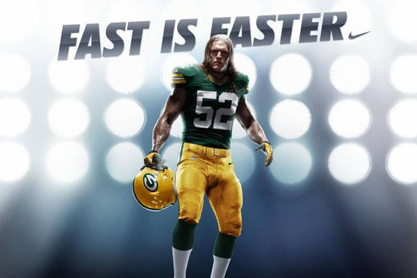 New Packer uniform for 2012! Couldn't have chosen a better model!  Go Pack Go