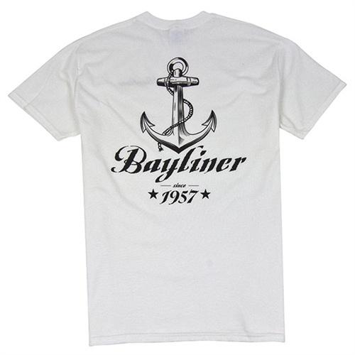 Anchor Tee - White #bayliner
