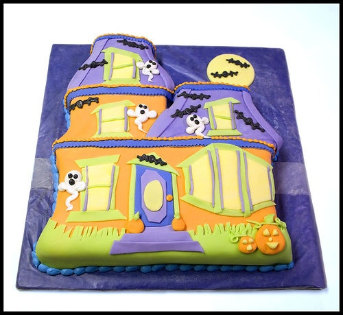 Halloween Birthday Cakes For Kids Boo Birthday Cakes