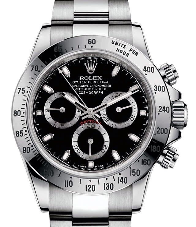 Rolex : Daytona Black Dial