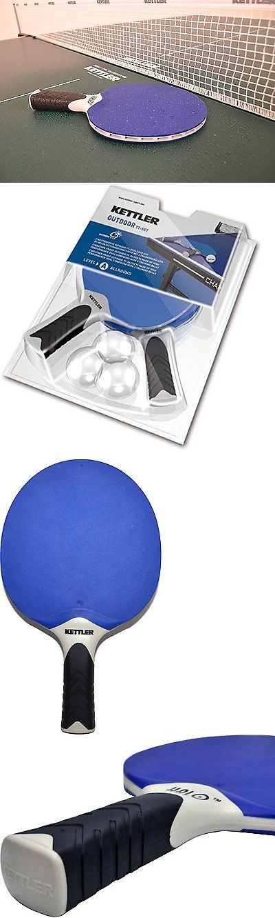 Sets 158955: Professional Table Tennis Ping Pong Set 2 Racquet Paddles Sport Indoor Outdoor BUY IT NOW ONLY: $54.59