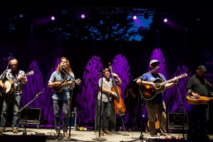 Greensky Bluegrass perform during the NW String Summit