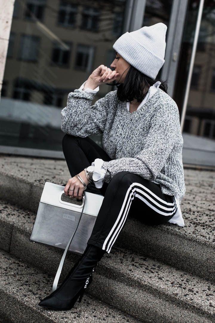 Trend Alert Hosen mit seitlichen Streifen – Julies Dresscode   Fashion Trends, Outfits & Streetstyles