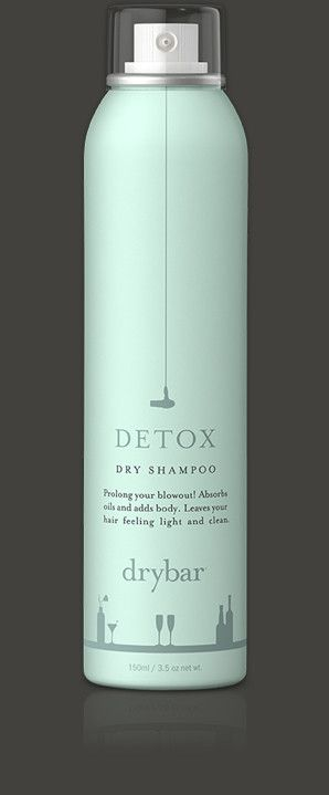 DETOX  Pre-Order! Dry Shampoo    Prolong your blowout!    Absorbs oils and adds body and lift.  Leaves hair feeling fresh and clean.  Micro powder blends in with hair color leaving no white residue.  Price: $20