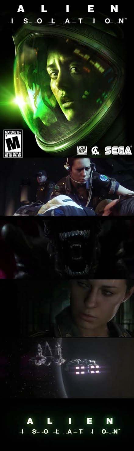 #Alien Isolation has new group stuck on a space station with the creature! http://www.levelgamingground.com/alien-isolation-review.html