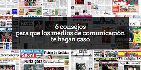 ¿Tu trabajo consiste en las relaciones con los #mediosdecomunicación? Aquí van 6 #consejos para mejorar la calidad de tus publicaciones aldeavillana.com