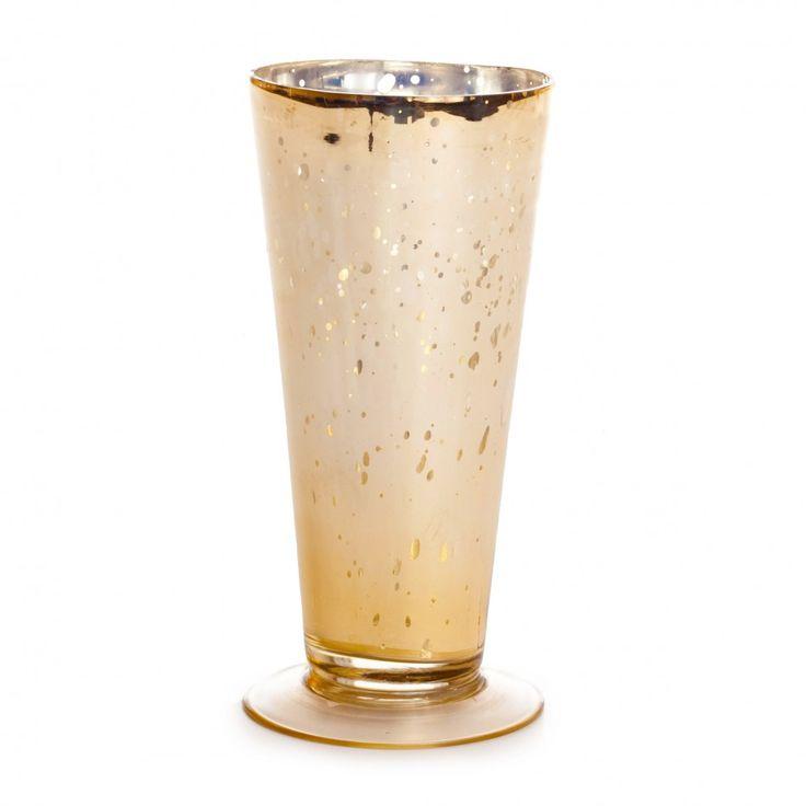 3.5 x 7 Gold Glass Julep Cup [SK22002 Gold Julep Votive