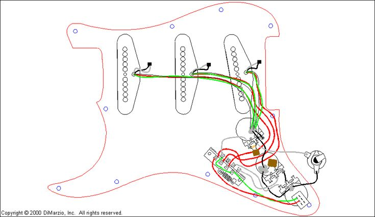 electric bass guitar wiring diagrams dimarzio wiring diagrams - http://www.automanualparts.com ...