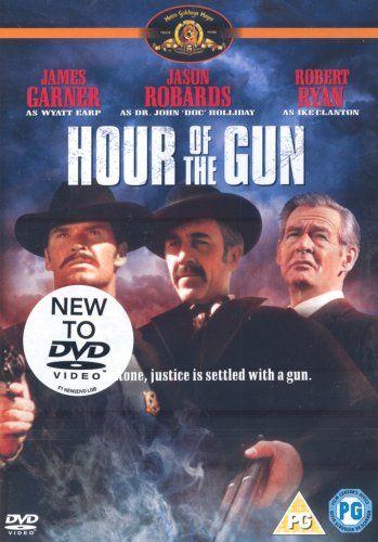 Hour Of The Gun [DVD]: Amazon.co.uk: James Garner, Jason Robards, Robert Ryan, Albert Salmi, Charles Aidman, Steve Ihnat, Michael Tolan, William Windom, Lonny Chapman, Larry Gates, John Sturges: DVD & Blu-ray
