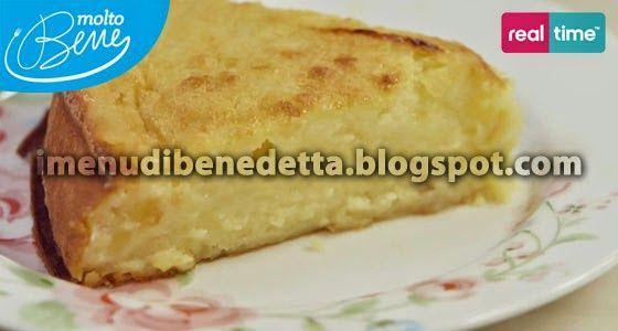 I Menu di Benedetta | Molto Bene: Torta di Purea di Mele al Cucchiaio