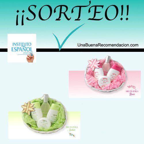 Sorteo San Valentín con Instituto Español. Premio: 2 cestas productos azahar y rosas