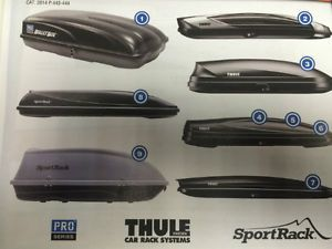 THULE CARRIERS CAR- VAN RACK SYSTEMS City of Toronto Toronto (GTA) image 1