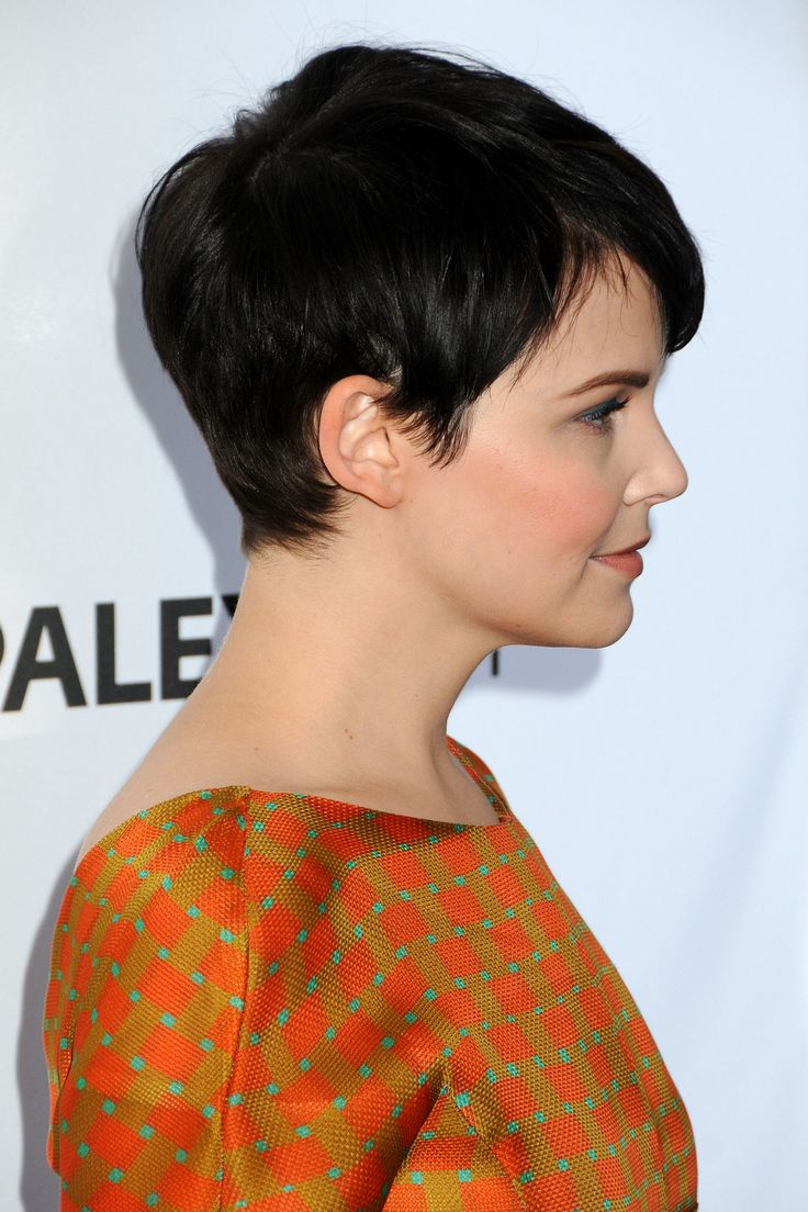 Ginnifer Goodwin, I like her pixie cut