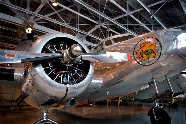 Western Canada Aviation Museum in Winnipeg, Manitoba, Canada. Photo by jennifermmupton, via Flickr.