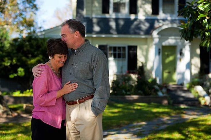 tim kaine and anne holton, tim kaine wife, tim kaine married