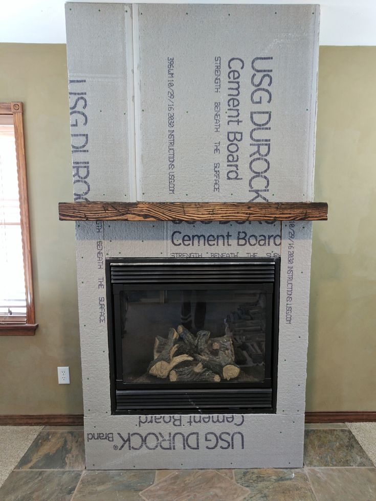 How To Make A Distressed Fireplace Mantel